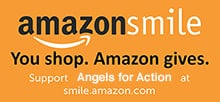 shop at amazon, select angels for action when you shop